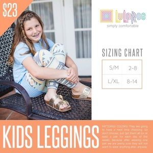 LuLaRoe Bottoms - Lularoe kids leggings